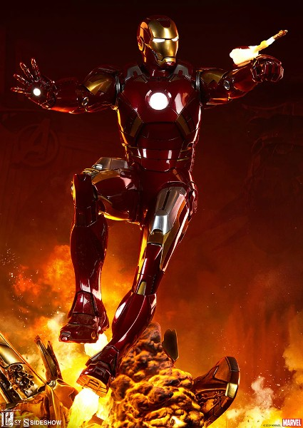 Preorder Sideshow Marvel Iron Man Mark VII Maquette